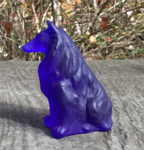 Cobalt Satin Mosser Collie