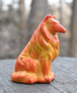 Mosser Collie for Rosso Glass - Orange marble